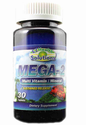 EZ Mega 2 Multivitamin Mineral 30 Tablets