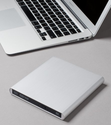 Aluminum External USB Blu-Ray Player/DVD/CD Combo for Apple--MacBook Air, Pro, iMac, Mini
