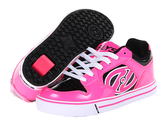 Zappos - Heelys - Motion (Little Kid/Big Kid/Women's) (Hot Pink/Black Synthetic Patent Leather) - Footwear