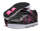 Zappos - Heelys - Bolt X2 Lighted (Little Kid/Big Kid/Adult) (Purple/Black Synthetic Patent Leather/Synthetic Leather...
