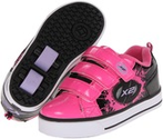 Zappos - Heelys - Speed X2 Lighted (Little Kid/Big Kid/Adult) (Pink/Black) - Footwear