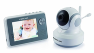 Foscam FBM3501 Digital Video Baby Monitor - 2.4 Ghz with Pan/Tilt, Nightvision and Two-Way Audio/Video Camera with 3....