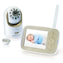 "Infant Optics DXR-8 Pan/Tilt/Zoom 3.5"" Video Baby Monitor With Interchangeable Optical Lens"
