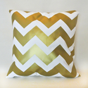 Best Gold Chevron Print Throw Pillows for 2014