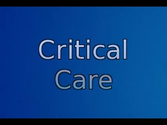 critical care part 1