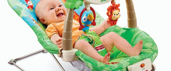 Headline for Top 10 Best Baby Bouncer Reviews 2017-2018