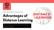 Know About the Advantages of Distance Education Learning
