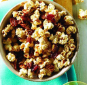 8. Popcorn with Dried Fruit &/or Roasted Chickpeas