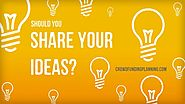 Tip 10: Share your ideas.