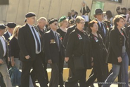 Generations standing side by side for the ANZAC'S