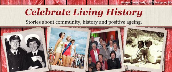 Headline for Celebrate Living History Student Stories