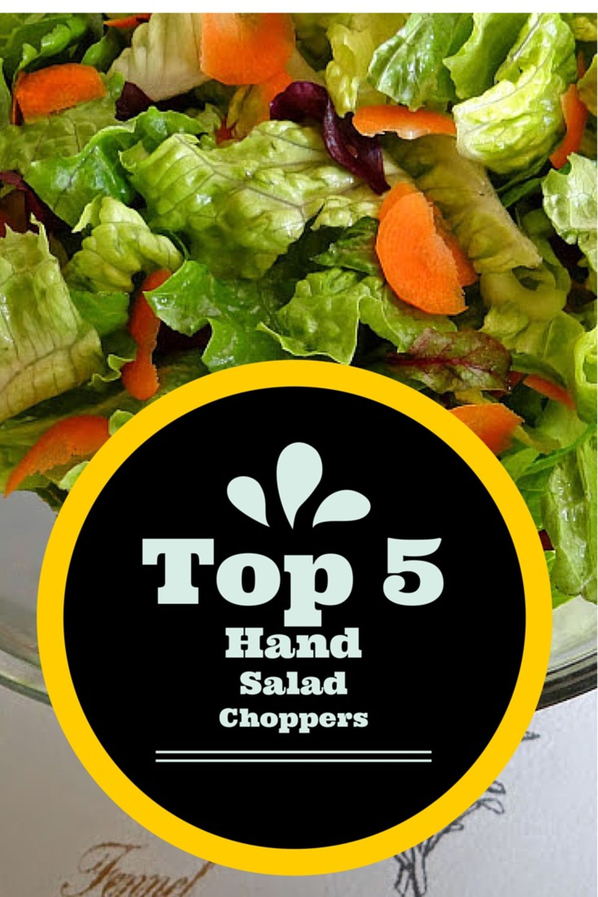 Headline for Hand Salad Chopper: Vegetable Choppers