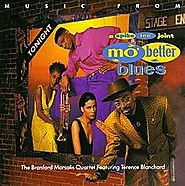 4. Mo' Better Blues - Branford Marsalis Quartet, Terence Blanchard (Mo' Better Blues; 1990)