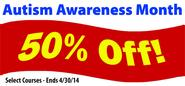 Autism Awareness Month Continuing Education Specials at PDResources