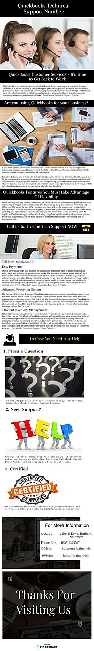 Quickbooks Technical Support Number | Piktochart Visual Editor