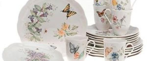 Headline for Lenox Butterfly Meadow Dinnerware Sets On Sale - Reviews And Ratings