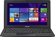 ASUS X200MA-SCL0505F 11.6-Inch Touchscreen Laptop/Intel Celeron N2840/4GB memory/500GB HDD/Win 8.1 (Black)