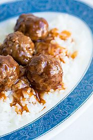 Sweet and Sour Meatballs Recipe | The Kitchen Magpie