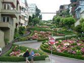 Lombard Street is San Francisco's Crookedest Street.