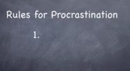 Tryary - Law of Attraction in Action - The 6 Reasons Why You Procrastinate
