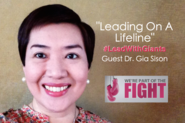 Leading On A Lifeline w/Breast Cancer Survivor Dr. Gia Sison (with images, tweets) · LeadWithGiants