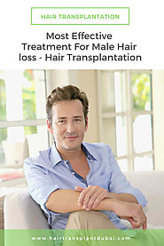 Most Effective Treatment for Male Hair Loss |