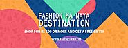 Online Shopping site – Best Fashion Sites in India