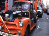 SF Giants Fan Vehicle is Curbed on Victory Day | Postcards from SF