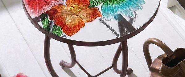 Headline for Cheap and Inexpensive Outdoor Patio Glass Accent Tables
