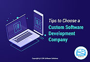 Effective Tips to Choose a Custom Software Development Company | Blog
