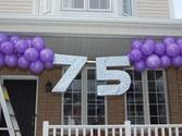 75th Birthday Decorations on Pinterest