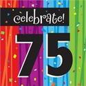 75th Birthday Party Supplies on Pinterest