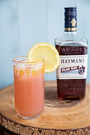 Sloe Gin Fizz Recipe | The Kitchen Magpie