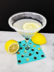 Lemon Drop Martini | The Kitchen Magpie