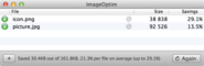 ImageOptim - better Save For Web