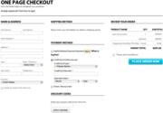 Benefits of One-Page Checkout