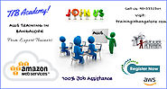 Best AWS Training in Bangalore and AWS Certification Training