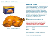 Inflatable Thanksgiving Foods