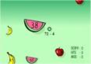 Math Games: Fruit Shoot Subtraction