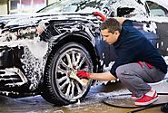 Above clean and more than just gleam! Mobile car wash app