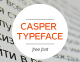 Casper Typeface on the Behance Network