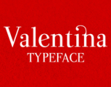 Valentina typeface [free font] on the Behance Network