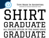 GRADUATE - Free Google Web Font on the Behance Network