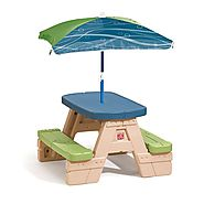 Step2 Sit and Play Picnic Table with Umbrella