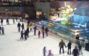 Rockefeller Center's Ice Skating Rink