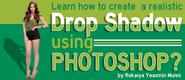 How To Create A Realistic Drop Shadow Using Photoshop?