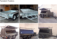 Tandem Trailers For Sale | Tandem Tipper Trailers Melbourne