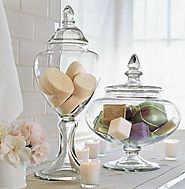 Glass Jars to Store Your Bathroom Essentials