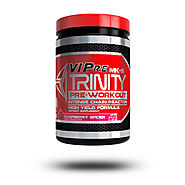 Keebo Sports Supplements V.I.Pre® TRINITY IS DOSED to the MAX with powerful ingredients that targets the 3 key aspect...