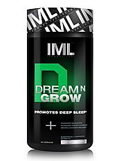 Supplements Dream-n-Grow natural product to help promote deep sleep and relaxation